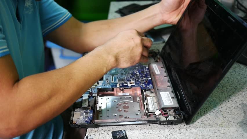 آموزش رایگان تعمیرات لپ تاپ